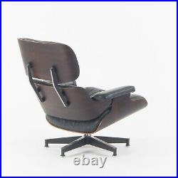 1970s Herman Miller Eames Lounge Chair and Ottoman 670 671 Rosewood Leather