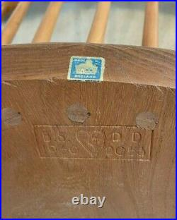 2 x Mid Century Ercol Stick Back Chairs Excellent Condition