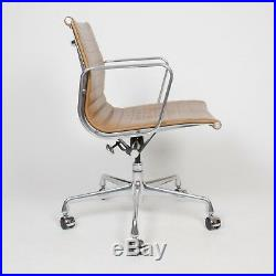 2000's Caramel Eames Herman Miller Low Aluminum Group Desk Chairs 5 Available