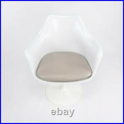 2014 Eero Saarinen for Knoll White Tulip Dining Arm Chair 6 8 10 12 Available
