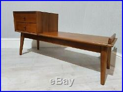 BNIB John Lewis West Elm Mid-Century storage bench FREE DELIVERY INCLUDED