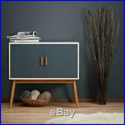 Chic Sideboard Cabinet Retro Bedroom Scandi Furniture Small Wooden Storage Unit