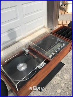 Clairtone G2 Turntable Stereo Mid Century Modern Record Player Project G Sinatra