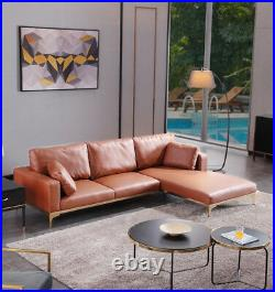Corner Sofa 3/4 Seater Contemporary Right/Left Lounge Chaise Made to Order