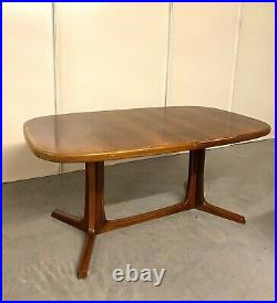 DANISH Mid Century Modern Extending Dining Table by NIELS O. MOLLER VERY RARE