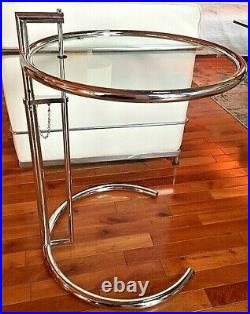 Eileen Gray side table Original Version Made in Italy