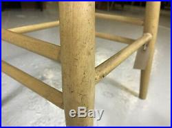 FREE DELIVERY 16 Available Ercol Bar Stools Original Elm Kitchen Chair