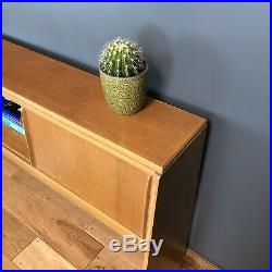 G Plan E Gomme Rare Bed Headboard Mid Century Retro Console Table Sideboard