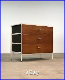 George Nelson Steel Frame Chest by Herman Miller Mid Century