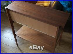 Handmade Walnut Side/Hall Table / console/credenza mid century Danish Japanese