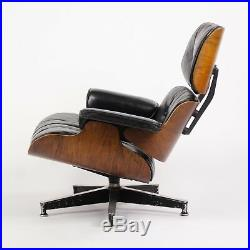 Holy Grail 1956 Herman Miller Eames Lounge Chair w Swivel Ottoman Boots + 3 Hole