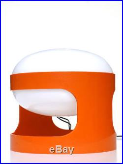 JOE COLOMBO KD27 table lamp Kartell 1967 space age 60s design