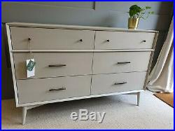 John Lewis /West Elm Mid-Century 6 Drawer Chest Sideboard RRP£1049 FREE DELIVERY