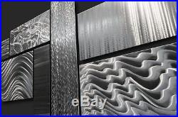 Large Modern Metal Abstract Wall Sculpture Contemporary Art Decor Mid Century