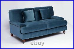 Made To Order Velvet Louis Holmes Extra-Comfy Arlo Sofa, Traditional Jacob
