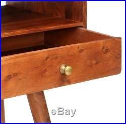 Mid Century Console Table Scandinavian Dressing Table Modern Style Solid Wood