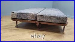 Mid Century Daybed by Vono 3 Seater Sofa Day Bed Original Grey Fabric Sofa Bed