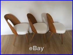 Mid-Century Dining Chairs by Antonin Suman for Tatra set of 6