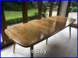 Mid Century Ercol Grand Windsor Extending Dining Table In Immaculate Condition