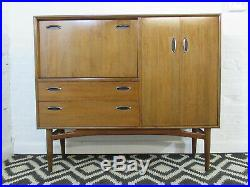 Mid Century G Plan Teak Drinks Cabinet or Sideboard with Cupboards & Drawers