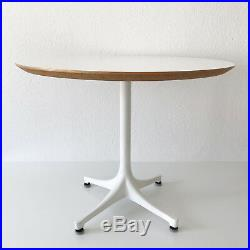 Mid Century Modern GEORGE NELSON Pedestal COFFEE TABLE by HERMAN MILLER, 1960s