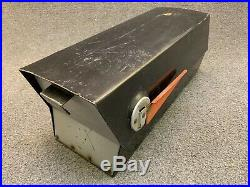 Mid Century Modern Leigh Building Products Rural Style Black Mailbox