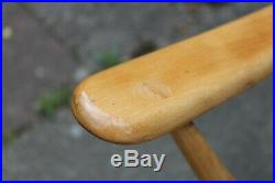 Mid Century Retro Ercol 203 Blonde Windsor Easy Lounge Chairs VINTAGE VGC BLONDE