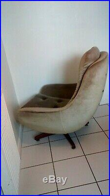 Mid Century Swivel Egg Chair 60s/70s Retro Vintage Parker Knoll style