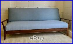 Midcentury Sofabed By Furpro 1960s Teak Sofa Vintage Retro (delivery available)