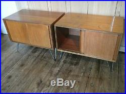 One G Plan Teak Form Five MID Century Cabinets Sideboards On Hairpin Legs