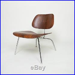 Rare Eames Herman Miller 1960s Rosewood LCM Lounge Chair Mid Century Modern
