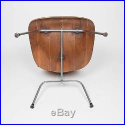Rare Eames Herman Miller Early 1950s Walnut LCM Lounge Chair Mid Century Modern