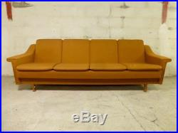 SB016 Sofa Bed Day Bed Mid-Century Danish Modern Studio Couch Vintage Retro