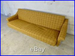 SB046 Sofa Bed Day Bed Mid-Century Danish Modern Studio Couch Vintage Retro