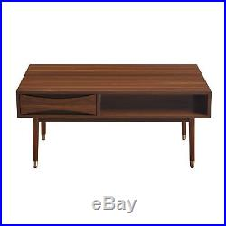 SOLD OUT Versanora Dawson Mid-Century Modern Wooden Coffee Table Living Room VNF