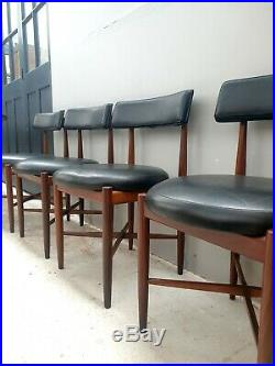 Set FOUR G Plan KOFOD LARSON FRESCO Teak 4 Dining Chairs DELIVERY AVAILABLE
