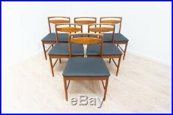 Set of 6 Mid Century Vintage Teak Dining Chairs by A H McIntosh 1960's /1261