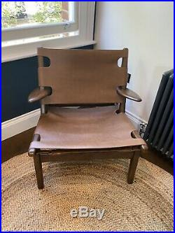 Soho Home X Anthropologie Santiago Leather Sling Chair