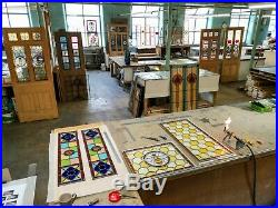 Stained Glass windows, Traditional door panels, modern design, made to measure