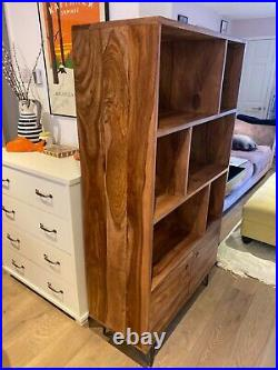 Swoon Editions Mid-century modern style wood bookcase