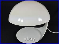 TWO 60s COBRA Table Desk Lamps Elio Martinelli Luce Mid Century Lamp Space Age