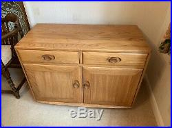 VINTAGE ERCOL WINDSOR SIDEBOARD Furniture Retro Cabinet Cupboard Mid Century
