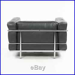 Vintage Cassina Italy Le Corbusier LC3 Grand Modele Armchair Leather Mult Avail