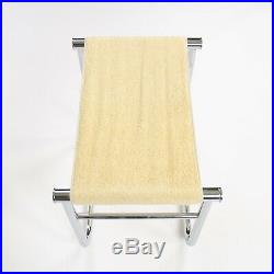 Vintage Cassina Le Corbusier Charlotte Perriand Jeanneret LC9 Bath Stool Table