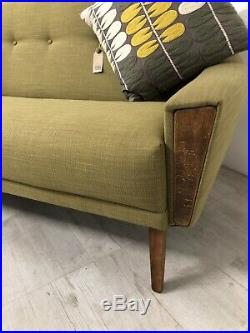 Vintage Danish Inspired MID Century 50s 60s Model 60 3 Seater Lounge Sofa Settee