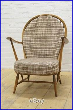 Vintage Ercol chair armchair elm & beech UK DELIVERY