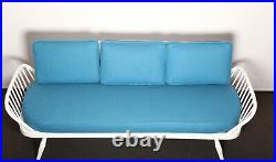 Vintage Ercol studio couch daybed sofa
