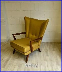 Vintage Mid Century G Plan Wingback Armchair Retro (delivery available)