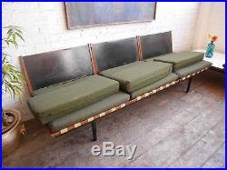 Vintage Mid Century Modern Robin Day for Hille Modular Form Sofa & Table Chair