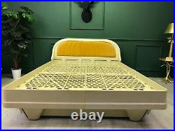 Vintage Retro Space Age James Seccombe 1979s Frame Bed